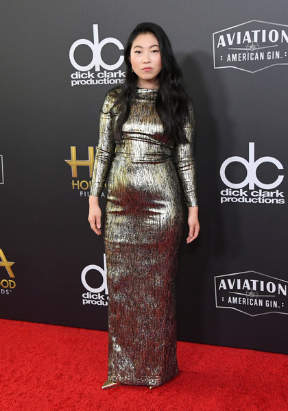 Awkwafina Form-Fitting Dress