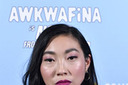 Awkwafina Long Wavy Cut