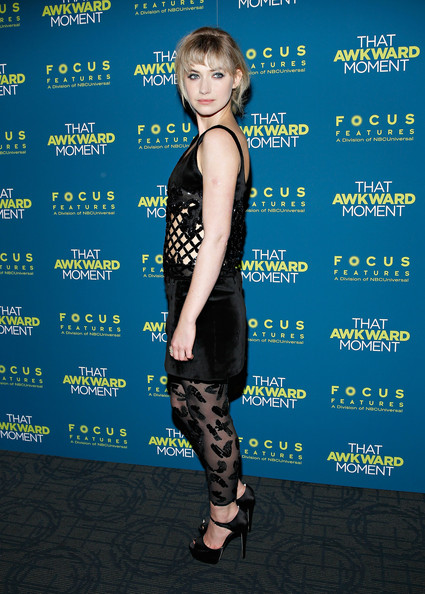 More Pics of Imogen Poots Twisted Bun (1 of 24) - Imogen Poots Lookbook - StyleBistro [that awkward moment,electric blue,premiere,carpet,imogen poots,screening - arrivals,new york,sunshine landmark,screening]