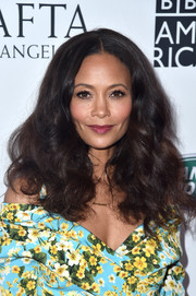 Thandie Newton looked fab with her fluffy curls at the BAFTA Los Angeles + BBC America TV Tea Party.