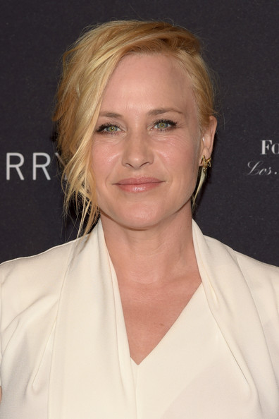 Patricia Arquette attended the BAFTA Los Angeles tea party rocking a punky updo.