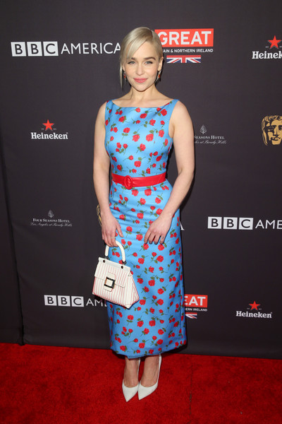 In Michael Kors At The BAFTA Los Angeles Tea Party,  2018
