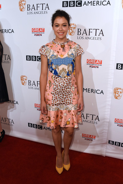 Tatiana Maslany at BBC America BAFTA Los Angeles TV Tea Party