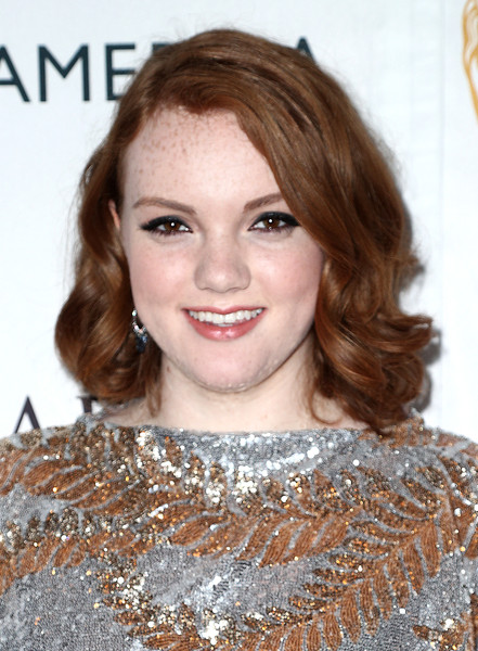 More Pics of Shannon Purser Sequin Dress (1 of 2) - Dresses & Skirts Lookbook - StyleBistro [hair,face,hairstyle,eyebrow,blond,lip,brown hair,beauty,hair coloring,chin,arrivals,shannon purser,tea party,los angeles,beverly hills,california,the beverly hilton hotel,bafta,bbc america]