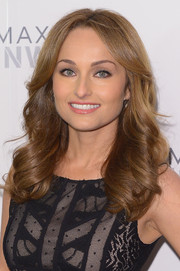 Giada De Laurentiis attended the BCBG Max Azria fashion show wearing her hair in lovely, bouncy waves.