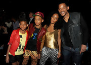 Momma Jada kicked it with the fam at the BET Awards, accenting her gold tank with chunky Midnight Melange link bracelets.