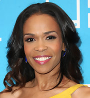 Michelle Williams swept on a rich mauve shade of lipstick at BET's Celebration of Gospel.