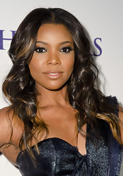 Gabrielle Union wore a lush pair of false lashes to complete her sexy smoky-eyed effect at the 2012 BET Pre-Honors Dinner.