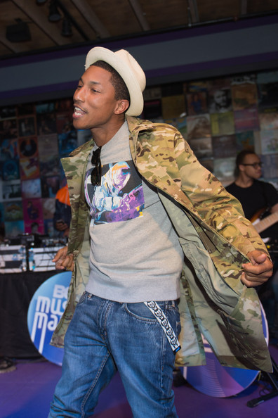 More Pics of Pharrell Williams Utility Jacket (2 of 7) - Pharrell Williams Lookbook - StyleBistro
