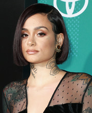 Kehlani kept it short and sweet with this bob at the 2017 Soul Train Awards.