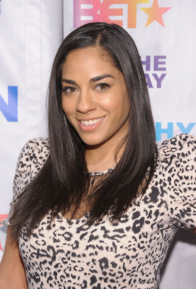More Pics of Sharon Carpenter Long Straight Cut (1 of 1) - Sharon Carpenter Lookbook - StyleBistro