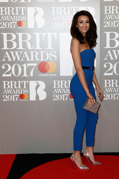 More Pics of Michelle Keegan Jumpsuit (1 of 9) - Suits Lookbook - StyleBistro