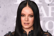 Lily Allen Long Straight Cut
