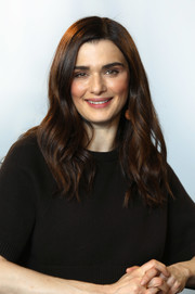 Rachel Weisz looked sweet with her wavy 'do white attending the Build LDN event.