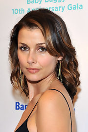 Bridget Moynahan wore her rich chestnut and caramel tresses in soft waves at the Baby Buggy 10th Anniversary Gala.