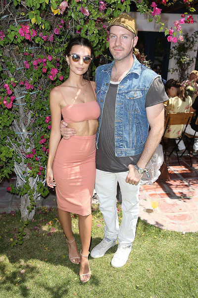 More Pics of Emily Ratajkowski Crop Top (1 of 1) - Tops Lookbook - StyleBistro [pink,lady,fashion,summer,leg,fun,flooring,flower,trunk,girl,diane von furstenberg,jeff magid,emily ratajkowski,thermal,california,bai beverages brunch with dannijo,dannijo,swim,bai beverages brunch]