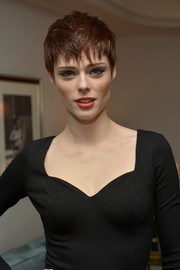 Coco Rocha topped off her look with an edgy pixie when she attended the Banana Republic L'Wren Scott collection launch.