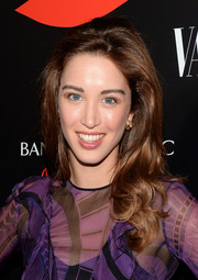 Melissa Bolona sported curly ends and a teased crown when she attended the Banana Republic L'Wren Scott collection launch.