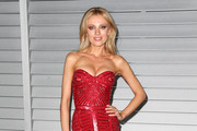 Bar Paly Strapless Dress