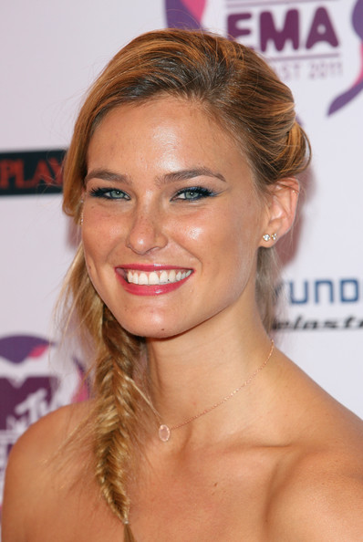 Bar Refaeli Long Braided Hairstyle