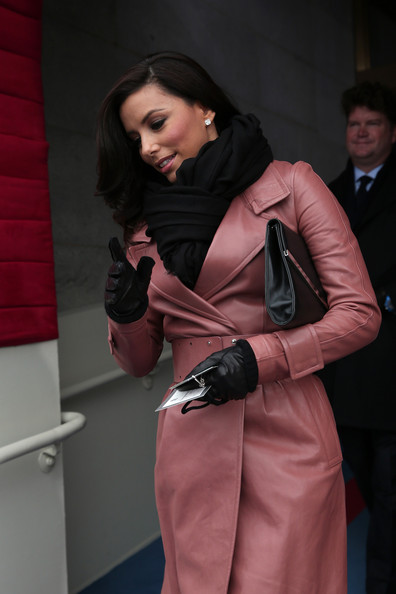 More Pics of Eva Longoria Leather Coat (2 of 4) - Eva Longoria Lookbook - StyleBistro