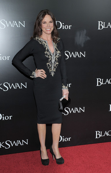 Barbara Hershey Beaded Dress