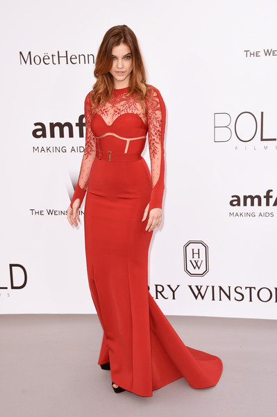 Barbara Palvin Evening Dress
