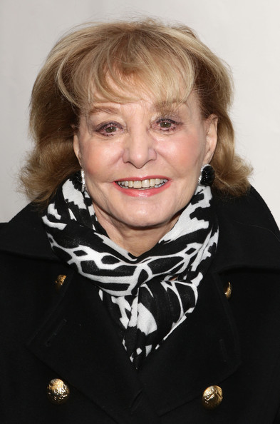 Barbara Walters Short Cut With Bangs