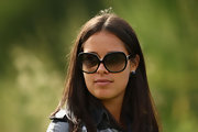 Ana Ivanovic looked chic at the Barclays Scottish Open wearing her butterfly sunnies.