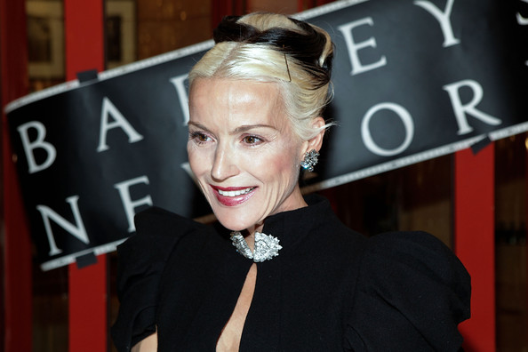 Daphne+Guinness in Barneys New York Celebrates Fashion's Night Out