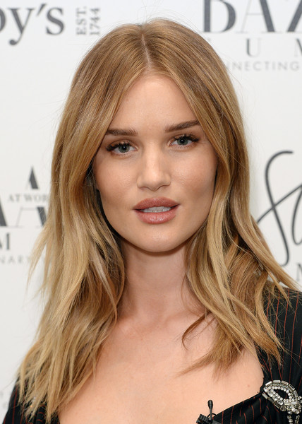 More Pics of Rosie Huntington-Whiteley Layered Cut (1 of 10) - Rosie Huntington-Whiteley Lookbook - StyleBistro [hair,face,blond,hairstyle,long hair,eyebrow,hair coloring,brown hair,layered hair,chin,rosie huntington-whiteley,london,england,bazaar at work summit photocall,sothebys,bazaar at work summit]
