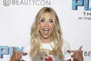 Actress Ashley Benson arrives at BeautyCon and Ashley Benson Host A Special Screening of PIXELS on July 12, 2015 in Los Angeles, California.