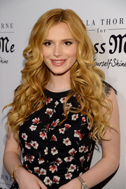 Bella Thorne gave us an eyeful of curls during the Miss Me and Cosmopolitan spring campaign launch.