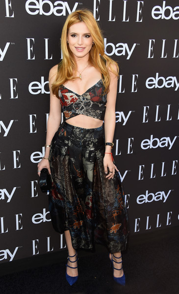 Bella Thorne Crop Top
