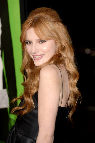 Bella Thorne Half Up Half Down