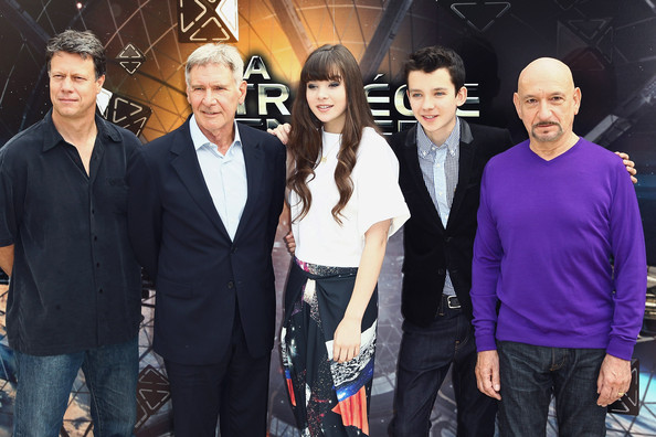 'Ender's Game' Photo Call in Paris