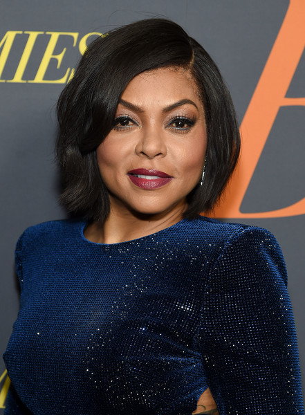 Taraji P. Henson looked lovely with her bob at the New York premiere of 'The Best of Enemies.'