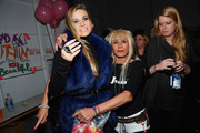Betsey Johnson and Carmen Electra Photo