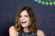 Betsy Brandt Print Blouse