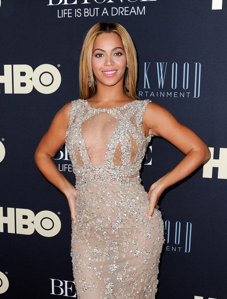 More Pics of Beyonce Knowles Beaded Dress (1 of 12) - Beyonce Knowles Lookbook - StyleBistro