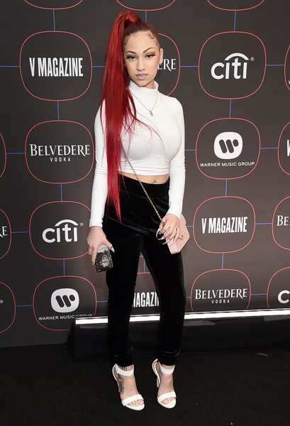 Bhad Bhabie Strappy Sandals [these heaux,clothing,fashion,shoulder,footwear,joint,leggings,waist,shoe,gadget,trousers,arrivals,bhad bhabie,rapper,meme,internet meme,cash,catchphrase,los angeles,warner music group hosts pre-grammy celebration,bhad bhabie,cash me outside,meme,15,internet meme,hi bich,is bhad bhabie - these heaux official music video,rapper,catchphrase,image]