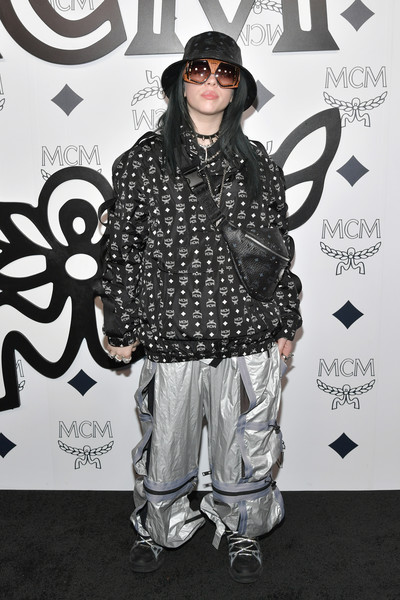 Billie Eilish Leather Shoulder Bag