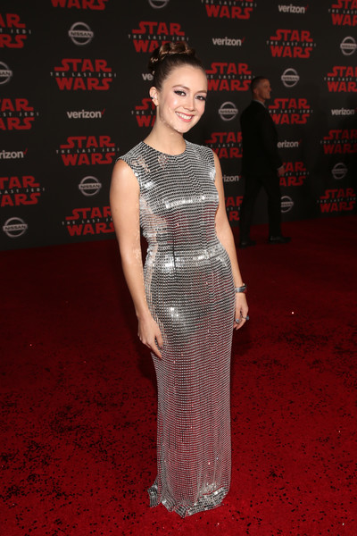 Billie Lourd Sequin Dress