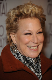 Bette Midler sported short curls at the Broadway opening of '700 Sundays.'