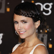 Nina Dobrev's Braided Bangs
