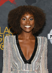 Issa Rae topped off her look with this afro when she attended Black Girls Rock! 2017.