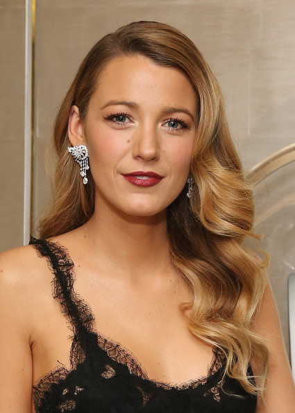 Blake Lively Diamond Chandelier Earrings