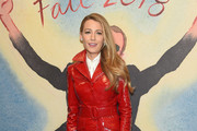 Blake Lively Leather Coat