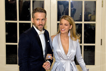 Blake Lively Ryan Reynolds President Obama Hosts Canadian PM Trudeau On His Official Visit To Washington