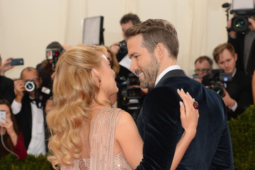 Blake Lively Ryan Reynolds Red Carpet Arrivals at the Met Gala — Part 3